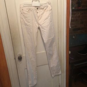 Free People off-white jeans
